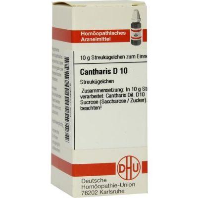 Cantharis D 10 Globuli  bei apo-discounter.de bestellen