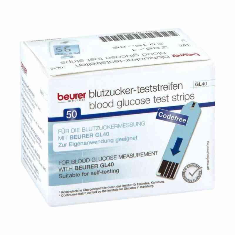 Beurer Gl40 Blutzuckerteststreifen  bei apo-discounter.de bestellen