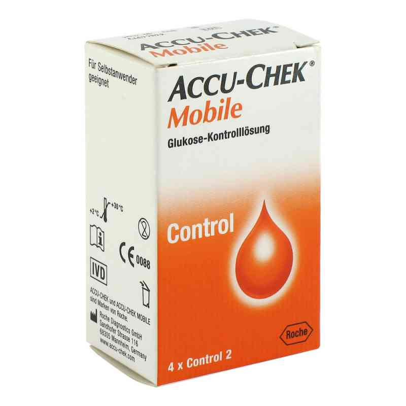 Accu Chek Mobile Kontroll Lösung  4 Einmalapplikat.  bei apo-discounter.de bestellen