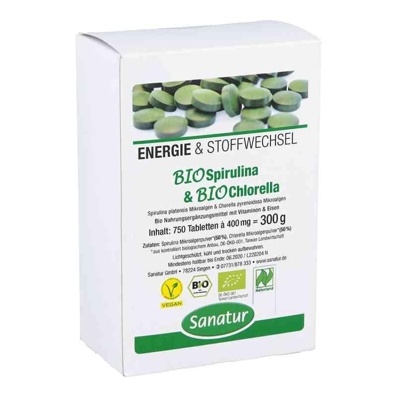 Biospirulina & Biochlorella 2 in 1 Tabletten  bei apo-discounter.de bestellen