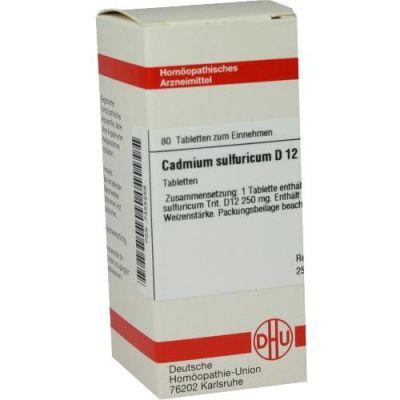 Cadmium Sulfuricum D12 Tabletten  bei apo-discounter.de bestellen