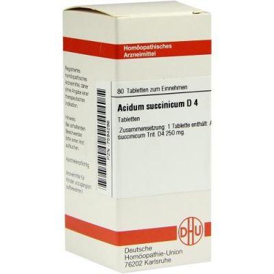 Acidum Succinicum D4 Tabletten  bei apo-discounter.de bestellen