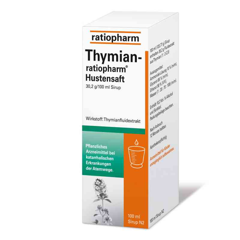 THYMIAN-ratiopharm Hustensaft  bei apo-discounter.de bestellen