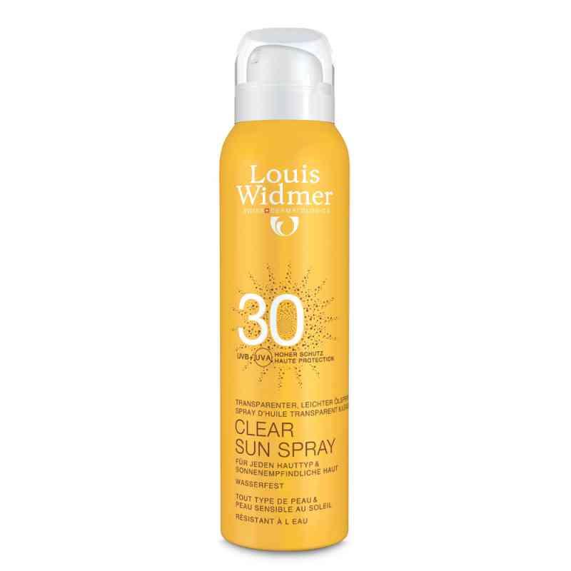 Widmer Clear Sun Spray 30 leicht parfümiert  bei apo-discounter.de bestellen