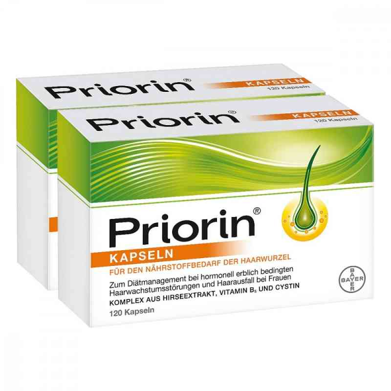 Priorin bei Haarausfall 12 Wochenkur + GRATIS 30er Priorin Pck. bei apo-discounter.de bestellen