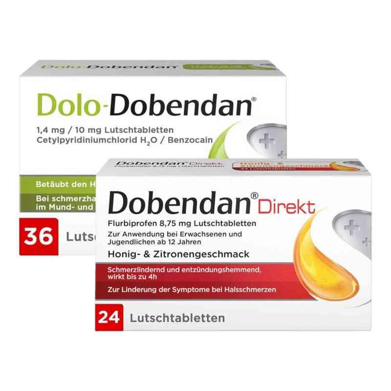 Dolo-Dobendan 36 stk + Dobendan Direkt Flurbiprofen 24 stk  bei apo-discounter.de bestellen