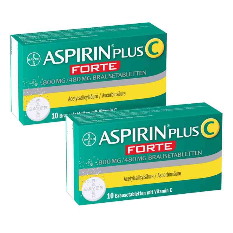 Aspirin plus C forte 800 mg/480 mg Brausetabletten  bei apo-discounter.de bestellen