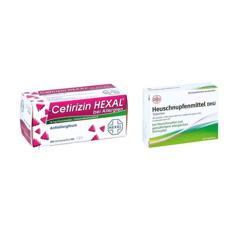 Heuschnupfenmittel DHU Tabletten - Cetirizin HEXAL  bei apo-discounter.de bestellen