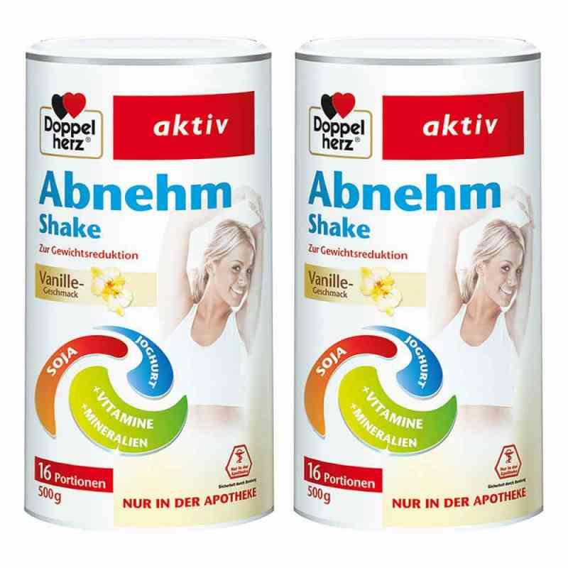 Doppelherz Abnehm Shake Vanille 2er Paket  bei apo-discounter.de bestellen