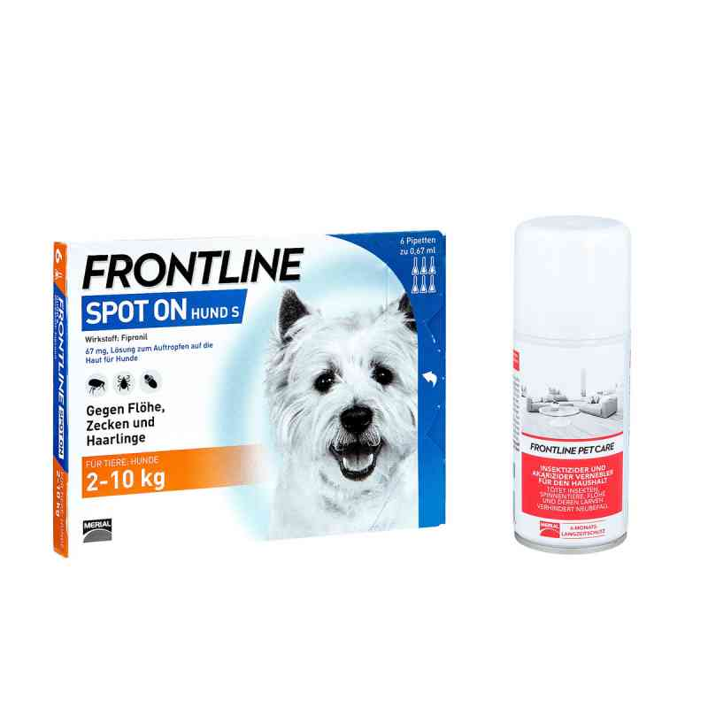Anti-Floh Set für Hunde Frontline Spot on H 10 veterinär Lösung  bei apo-discounter.de bestellen