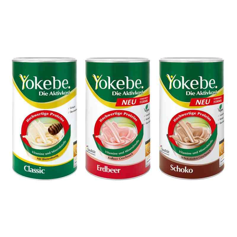 Yokebe Paket - Classic, Erdbeer, Schoko  bei apo-discounter.de bestellen
