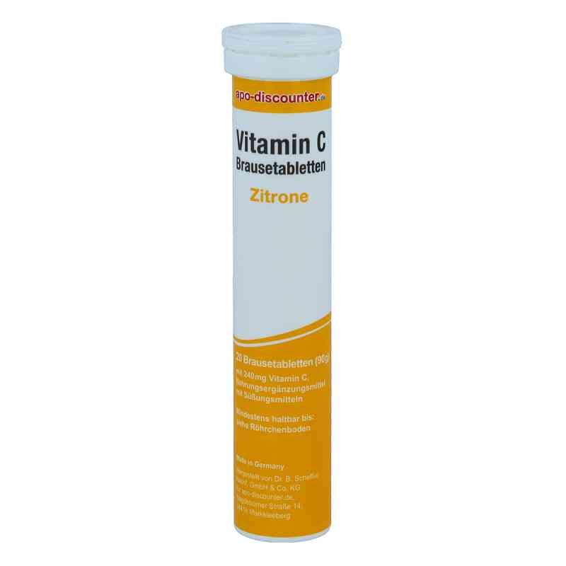 Vitamin C-Brausetabletten 240 mg Zitrone von apo-discounter  bei apo-discounter.de bestellen