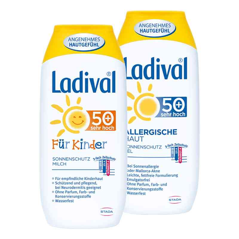 Ladival-Familien-Paket LSF 50  bei apo-discounter.de bestellen