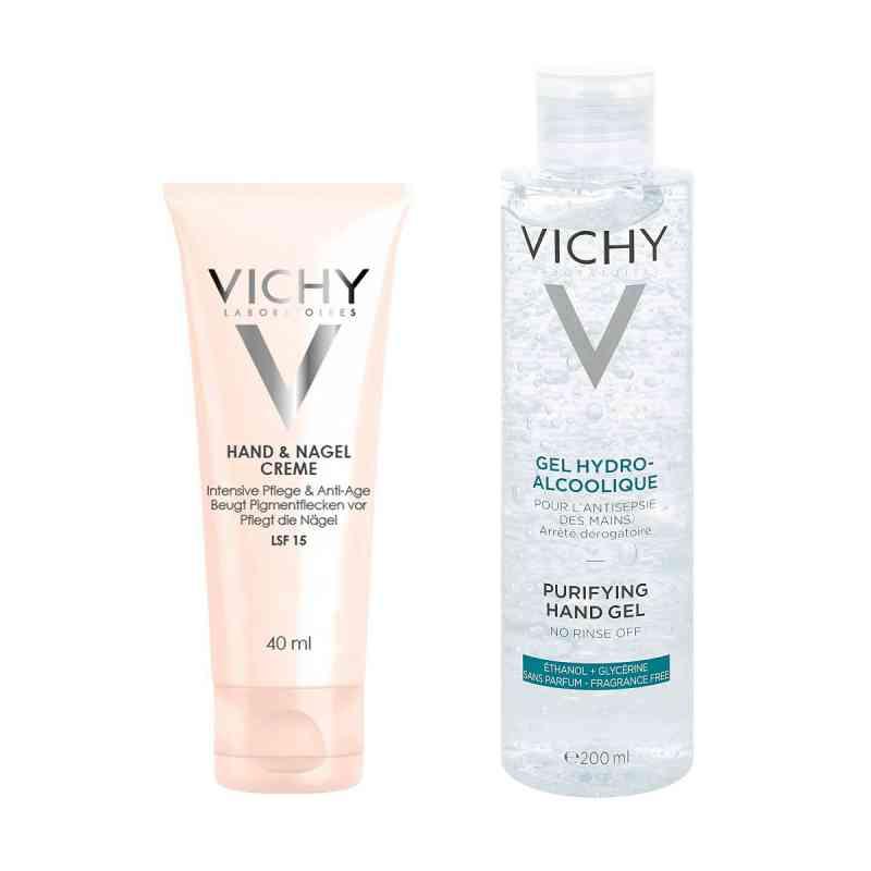 Vichy Reinigendes Hand-Gel + Vichy Hand Nagelcreme  bei apo-discounter.de bestellen