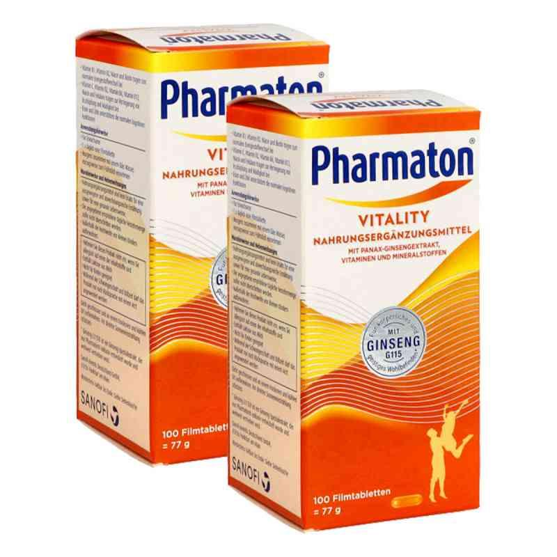Pharmaton Kapseln Nahrungsergänzungsmittel Doppelpack  bei apo-discounter.de bestellen