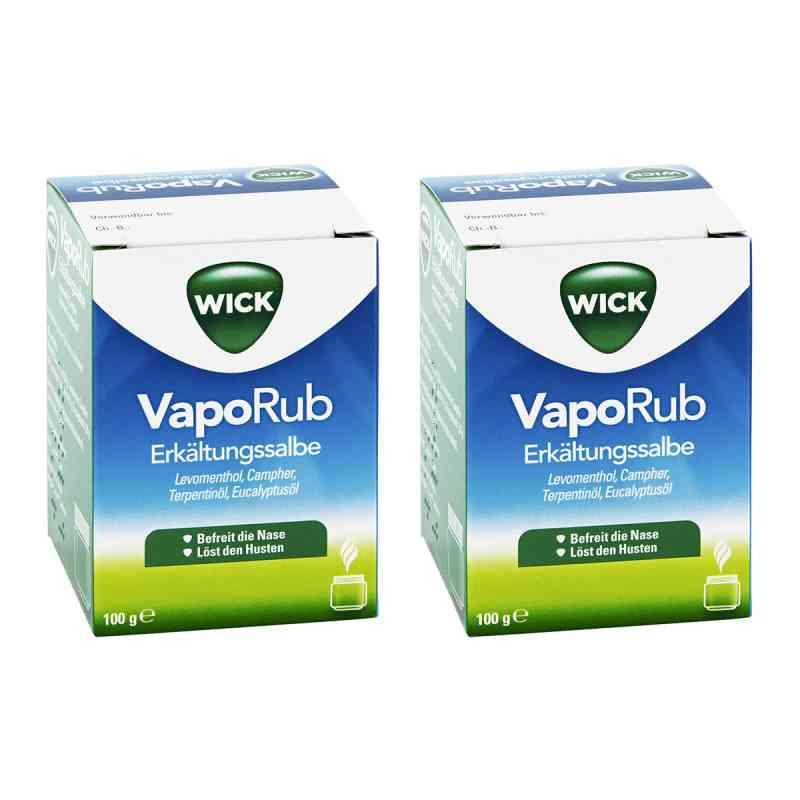 Vorteilsset WICK VapoRub Erkältungssalbe  bei apo-discounter.de bestellen
