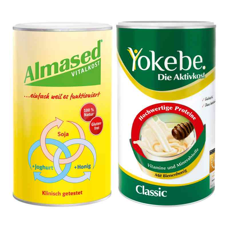 Almased Vitalkost + Yokebe Classic  bei apo-discounter.de bestellen