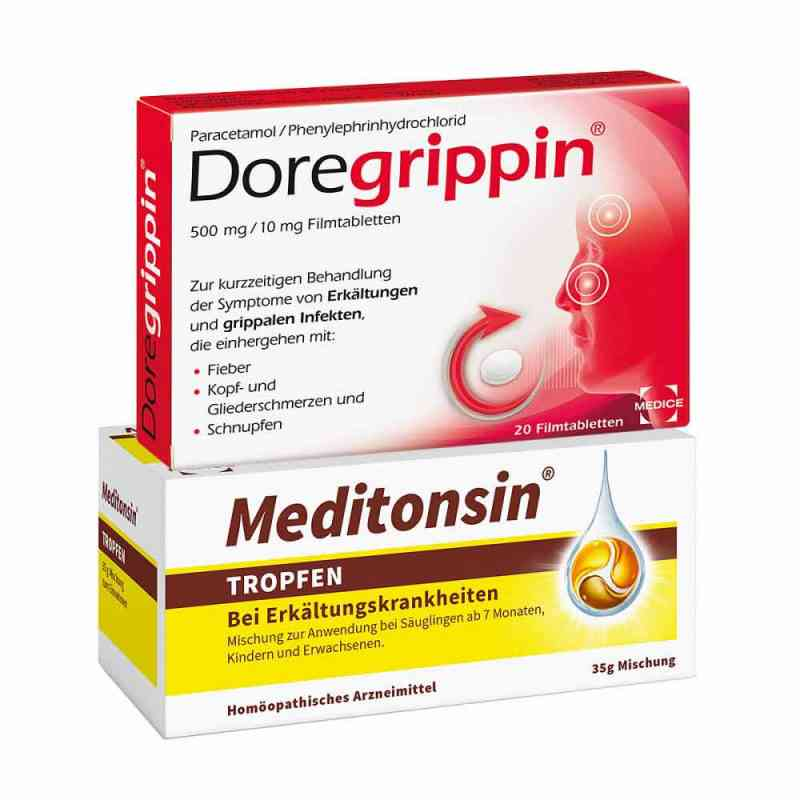 Meditonsin + Doregrippin  bei apo-discounter.de bestellen