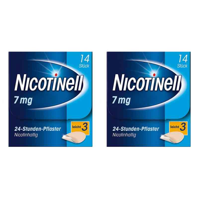 Nicotinell Paket 7 mg (ehemals 17,5 mg) 24-Stunden-Pflaster  bei apo-discounter.de bestellen
