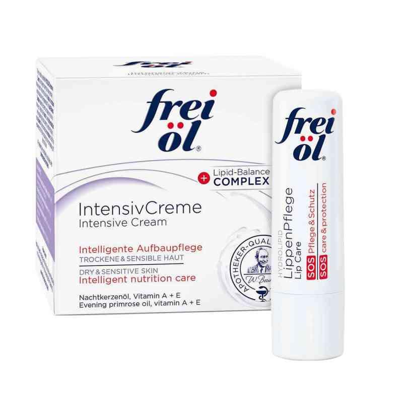 Frei Öl Intensivcreme (50 ml) + Frei Öl Lippenpflege gratis  bei apo-discounter.de bestellen