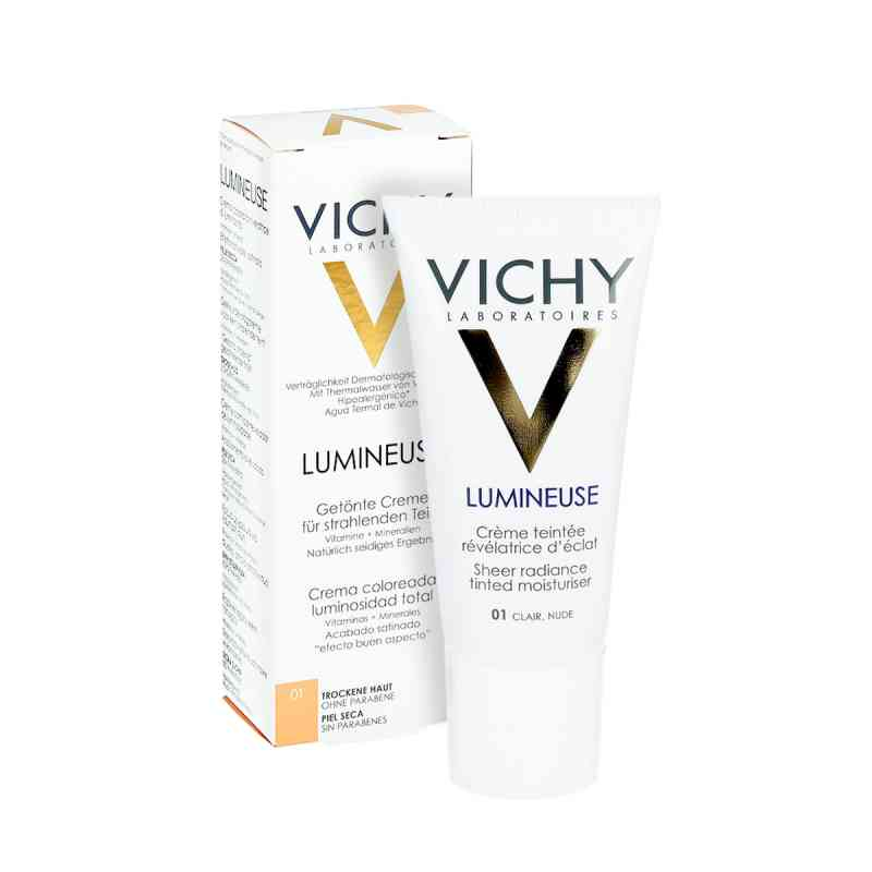 Vichy Lumineuse Satinee clair für  trockene Haut Cr.  bei apo-discounter.de bestellen
