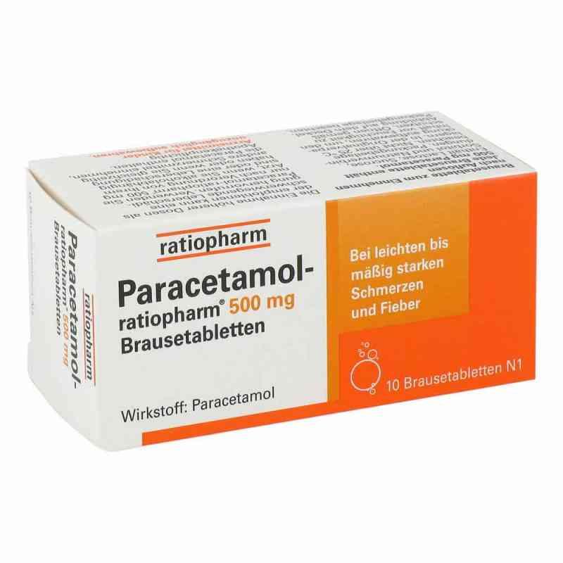 Paracetamol ratiopharm 500mg  bei apo-discounter.de bestellen
