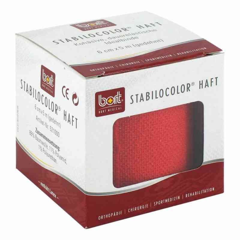 Bort Stabilocolor haft Binde 6cm rot  bei apo-discounter.de bestellen