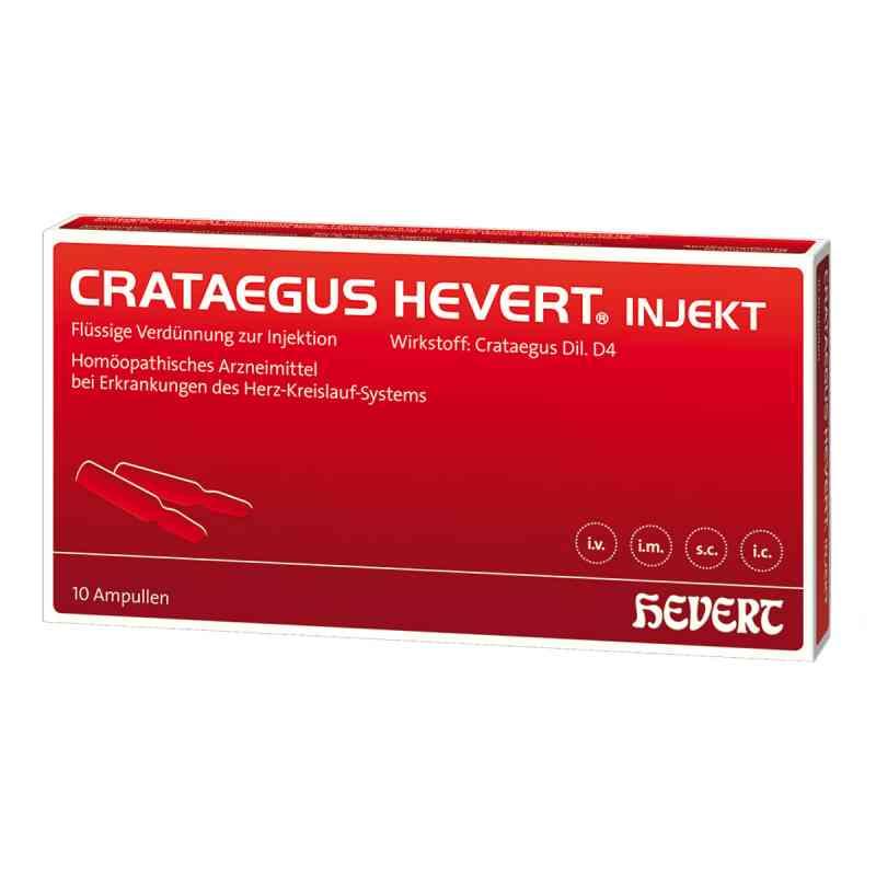 Crataegus Hevert injekt Ampullen  bei apo-discounter.de bestellen