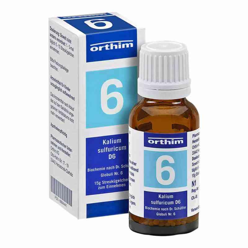 Biochemie Globuli 6 Kalium sulfuricum D6  bei apo-discounter.de bestellen