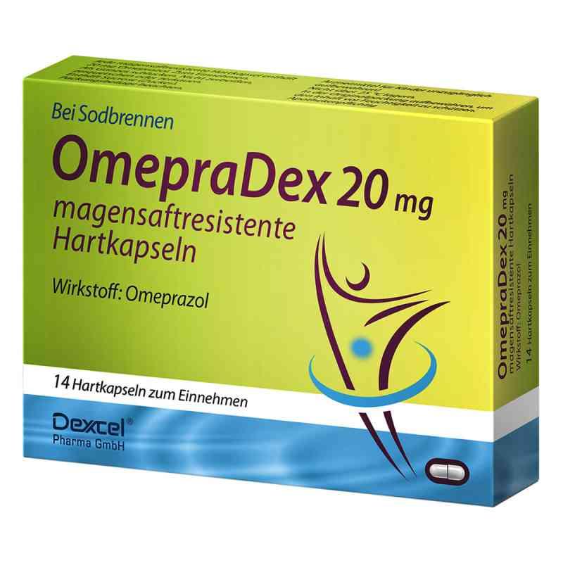 OmepraDex 20mg magensaftresistente Hartkapseln  bei apo-discounter.de bestellen