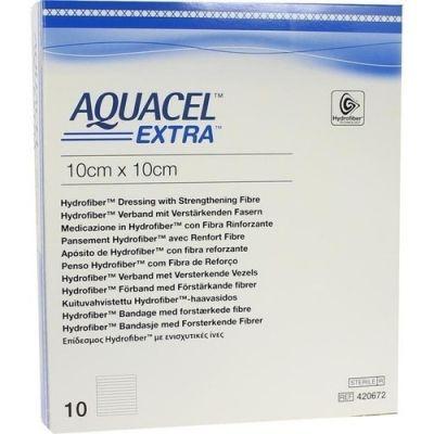 Aquacel Extra 10x10 cm Kompressen  bei apo-discounter.de bestellen