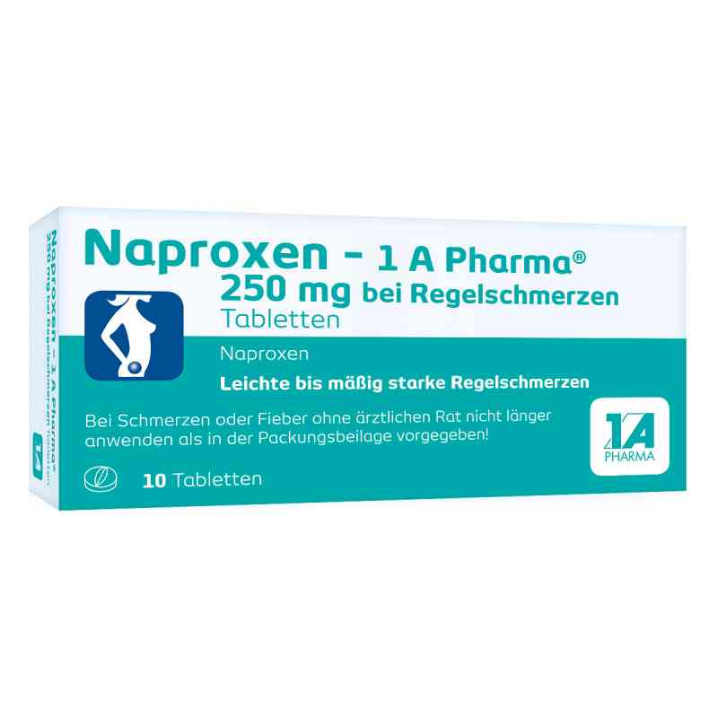 Naproxen-1A Pharma 250mg bei Regelschmerzen  bei apo-discounter.de bestellen