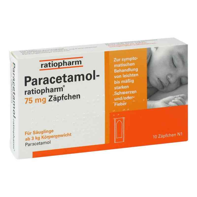 Paracetamol ratiopharm 75mg  bei apo-discounter.de bestellen