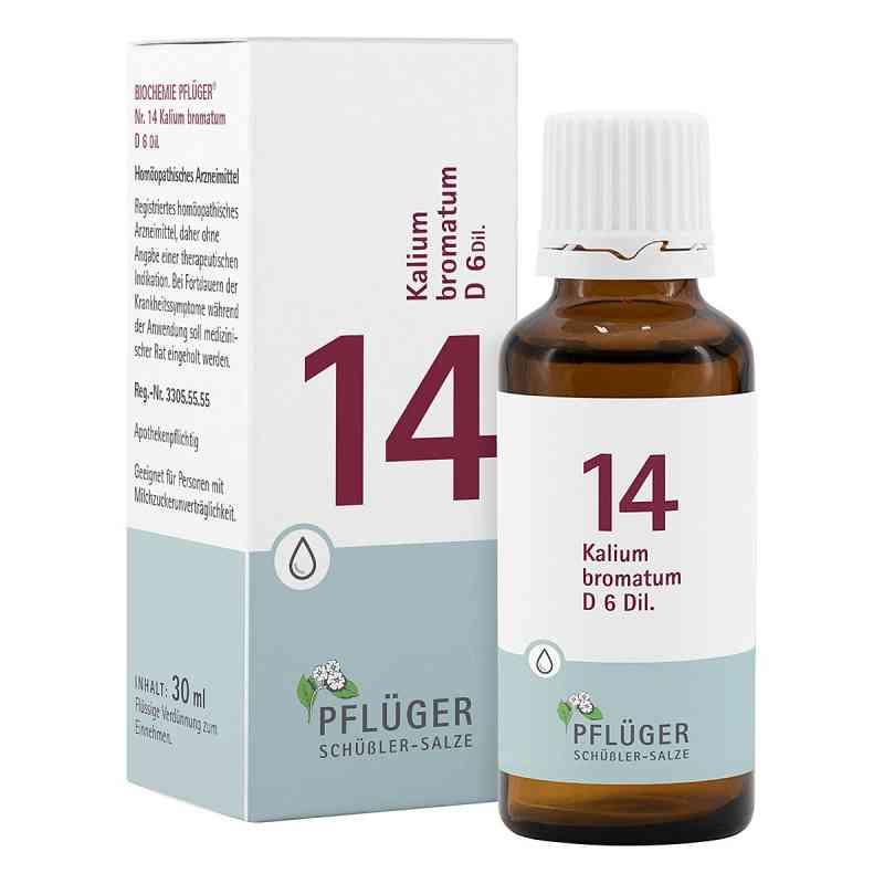Biochemie Pflüger 14 Kalium bromat.D 6 Tropfen  bei apo-discounter.de bestellen