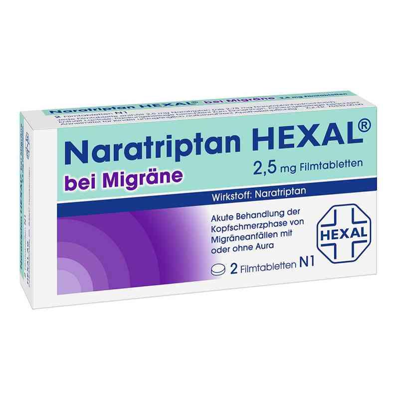 Naratriptan HEXAL bei Migräne 2,5mg  bei apo-discounter.de bestellen