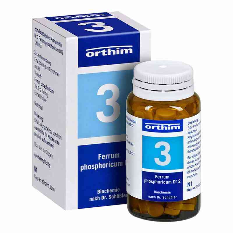Biochemie Orthim 3 Ferrum phosphoricum D 12 Tabletten   bei apo-discounter.de bestellen