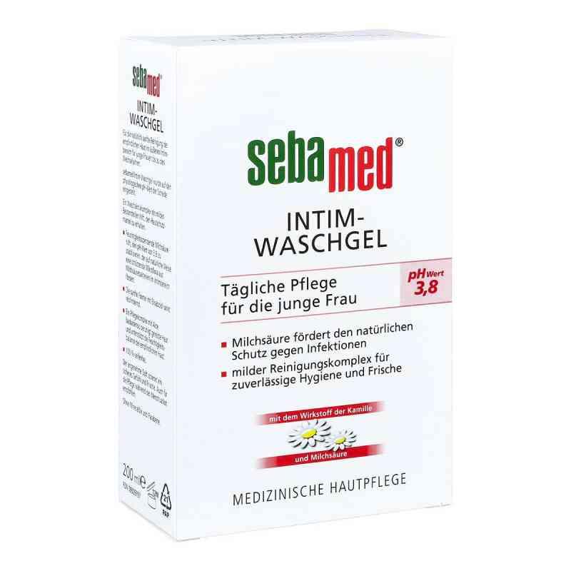 Sebamed Intim Waschgel pH 3,8 für die junge Frau  bei apo-discounter.de bestellen