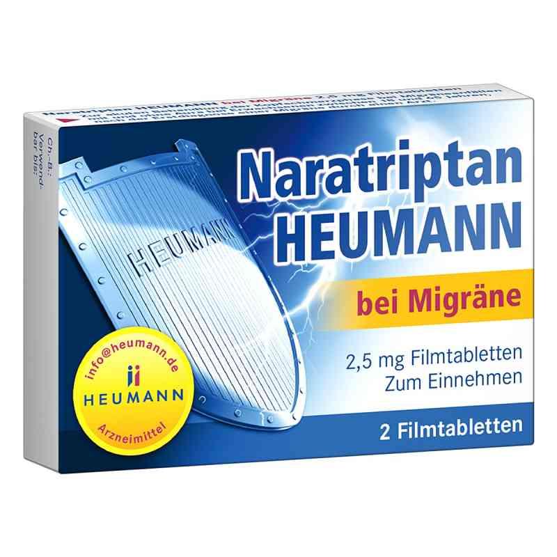 Naratriptan Heumann bei Migräne 2,5mg  bei apo-discounter.de bestellen