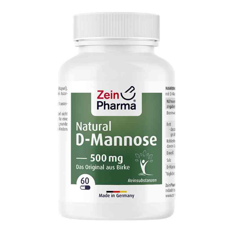 Natural D-mannose 500 mg Kapseln  bei apo-discounter.de bestellen
