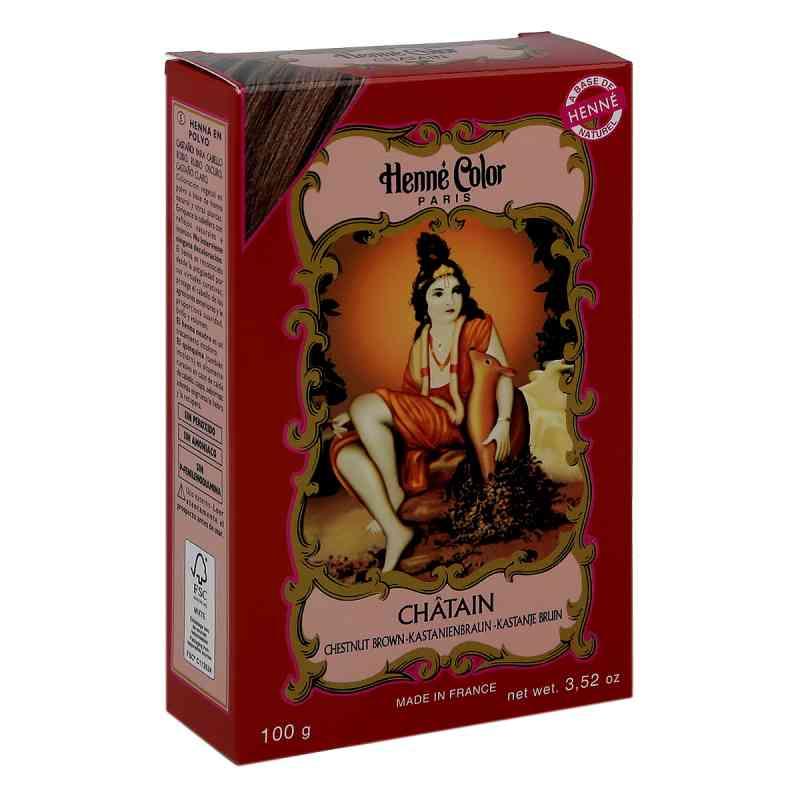 Henna Color Pulver kastanienbraun Chatain  bei apo-discounter.de bestellen