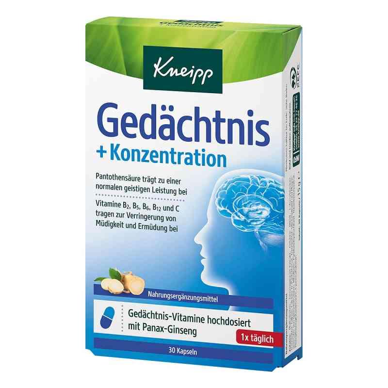 Kneipp Gedächtnis + Konzentration Kapseln  bei apo-discounter.de bestellen