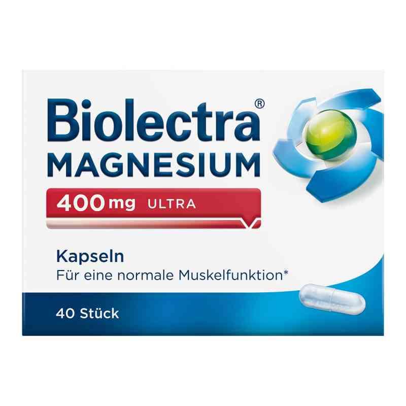 Biolectra Magnesium 400 mg ultra Kapseln  bei apo-discounter.de bestellen