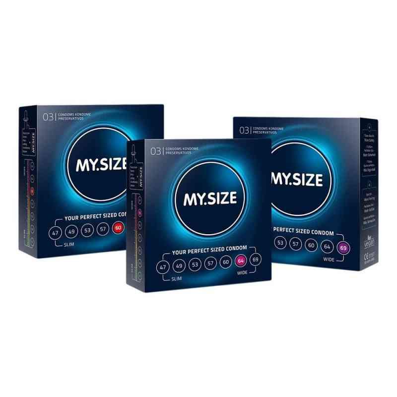 Mysize Testpack 60 64 69 Kondome  bei apo-discounter.de bestellen