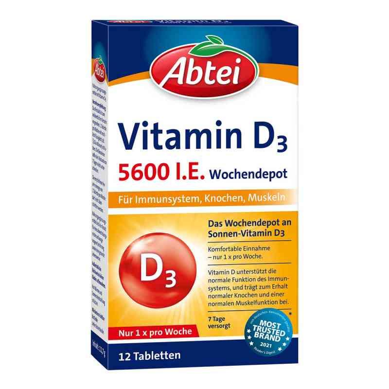 Abtei Vitamin D3 5.600 I.e. Wochendepot Tabletten  bei apo-discounter.de bestellen