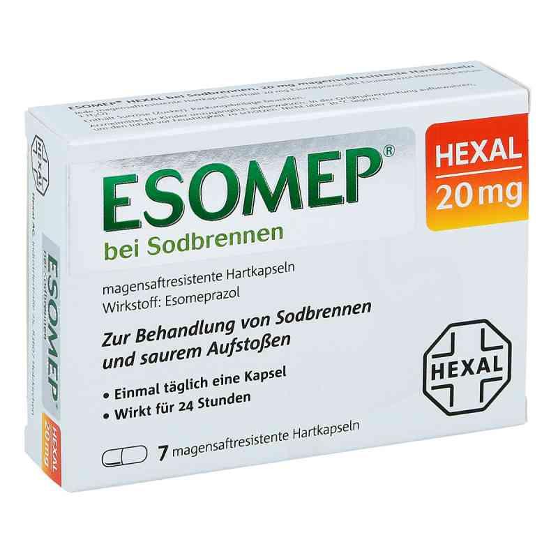 ESOMEP HEXAL bei Sodbrennen 20mg  bei apo-discounter.de bestellen