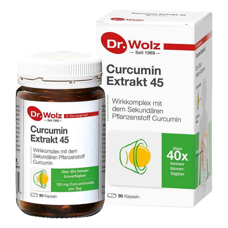 Curcumin Extrakt 45 Doktor wolz Kapseln  bei apo-discounter.de bestellen