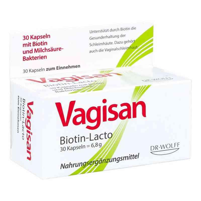 Vagisan Biotin-lacto Kapseln  bei apo-discounter.de bestellen