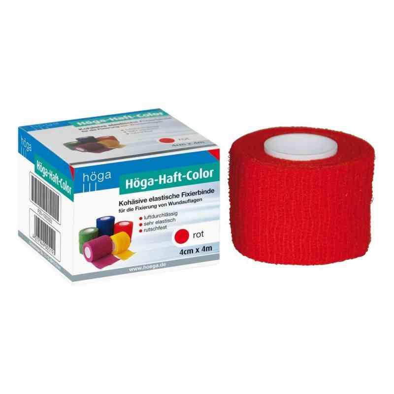 Höga-haft Color Fixierbinde 4 cmx4 m rot  bei apo-discounter.de bestellen