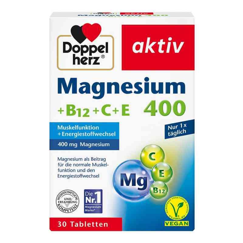 Doppelherz Magnesium 400+b12+c+e Tabletten  bei apo-discounter.de bestellen