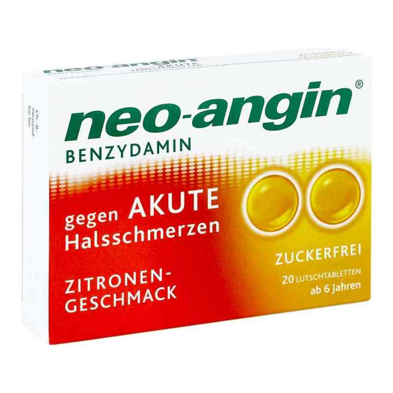 Neo Angin Benzydamin akute Halsschmerzen Zitrone  bei apo-discounter.de bestellen
